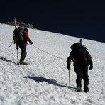 La montura de los 4000 mts, Volcan Domuyo