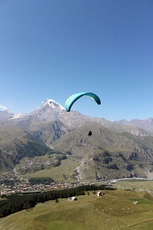 Kazbegi Paragliding Things to do, Kazbek or Kasbek photo