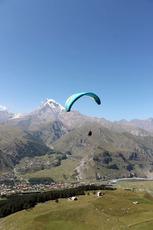 Kazbegi Paragliding Things to do, Kazbek or Kasbek photo