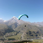 Kazbegi Paragliding Things to do, Kazbek or Kasbek