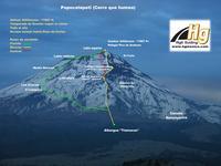 Popocatepetl route photo
