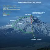 Popocatepetl route