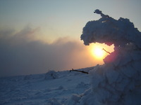 Sunset, Šiljak Rtanj photo