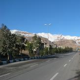 ghalat mount from golestan town